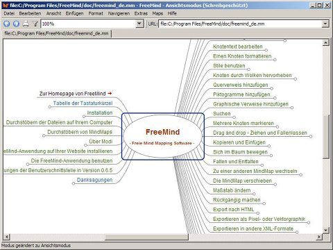 Freemind Mindmapping Software