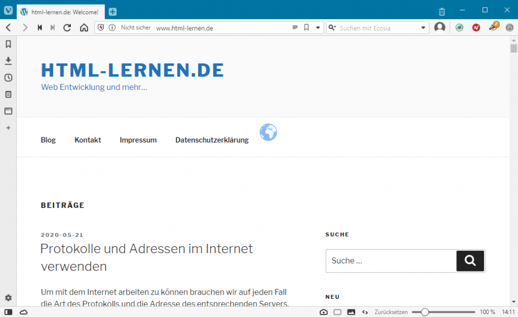 html-lernen